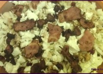 Pear and Bacon Salad with Balsamic Vinaigrette