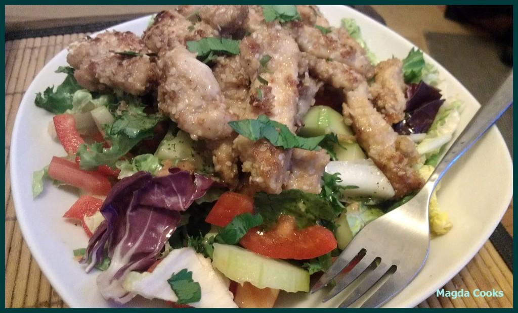 85 sesame chicken salad