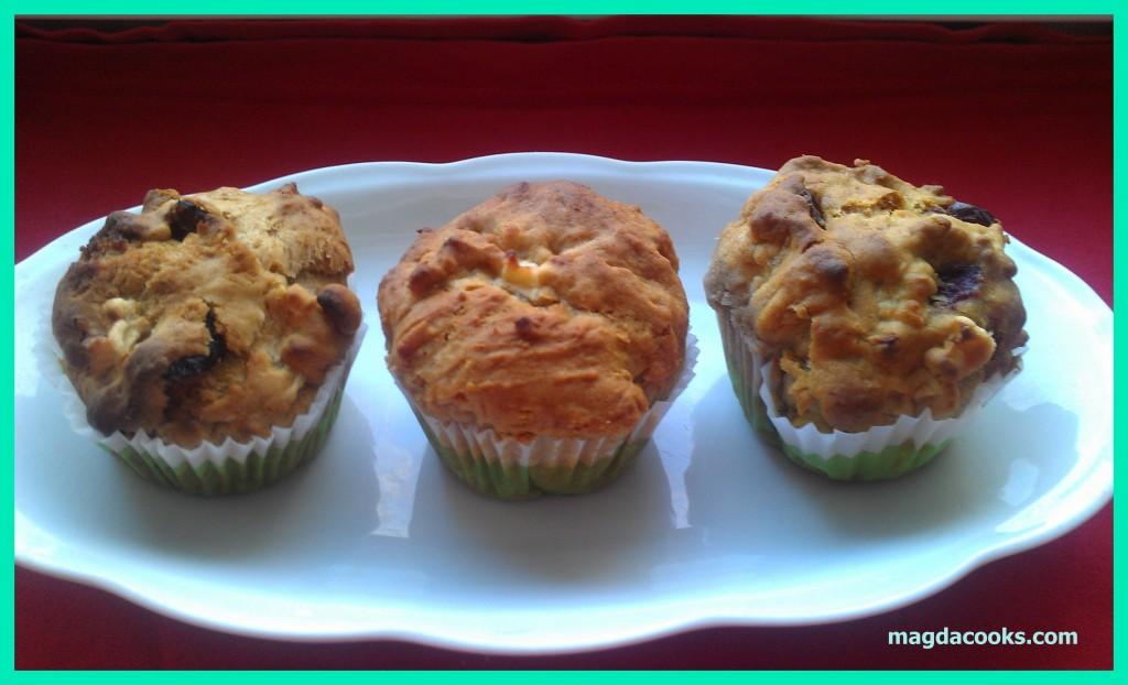 106 apple honey muffins