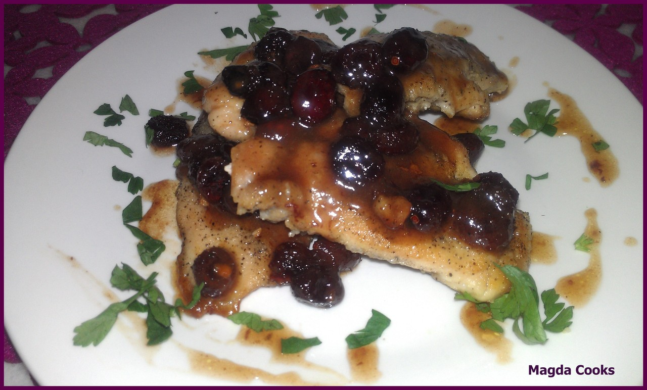 Cranberry Sauce Chicken