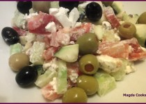 Greek Style Salad With A Twist