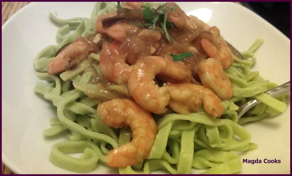 69 Shrimp Pasta