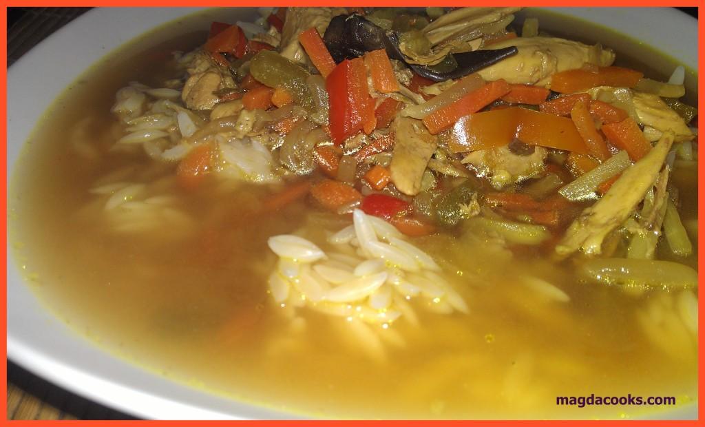97 oriental flavour soup