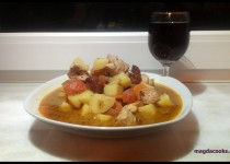 Chix & Chorizo One Pot Goulash